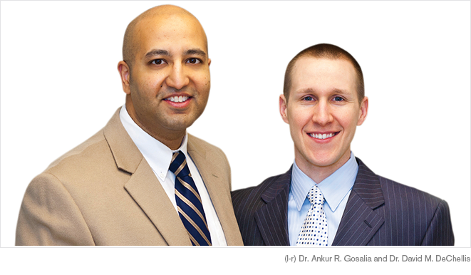 Dr. Ankur R. Gosalia and Dr. David M. DeChellis